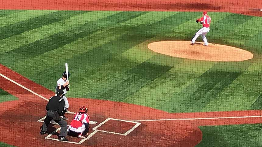 Louisville baseball overcomes Texas Tech, frigid temperatures