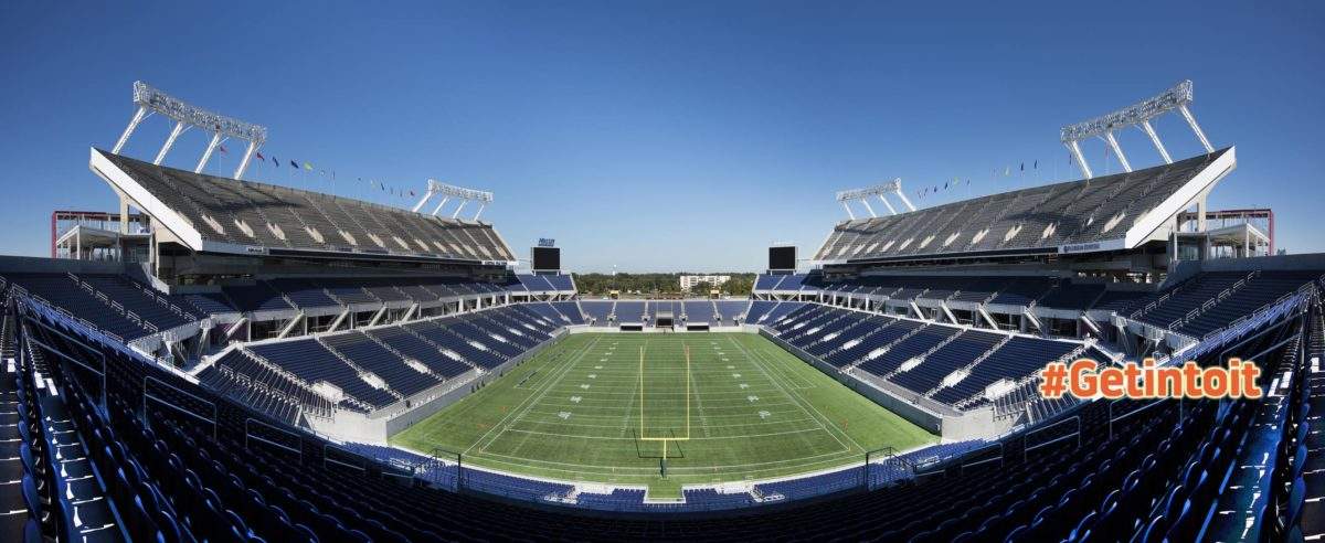 Historic Camping World Stadium grand setting for Louisville football