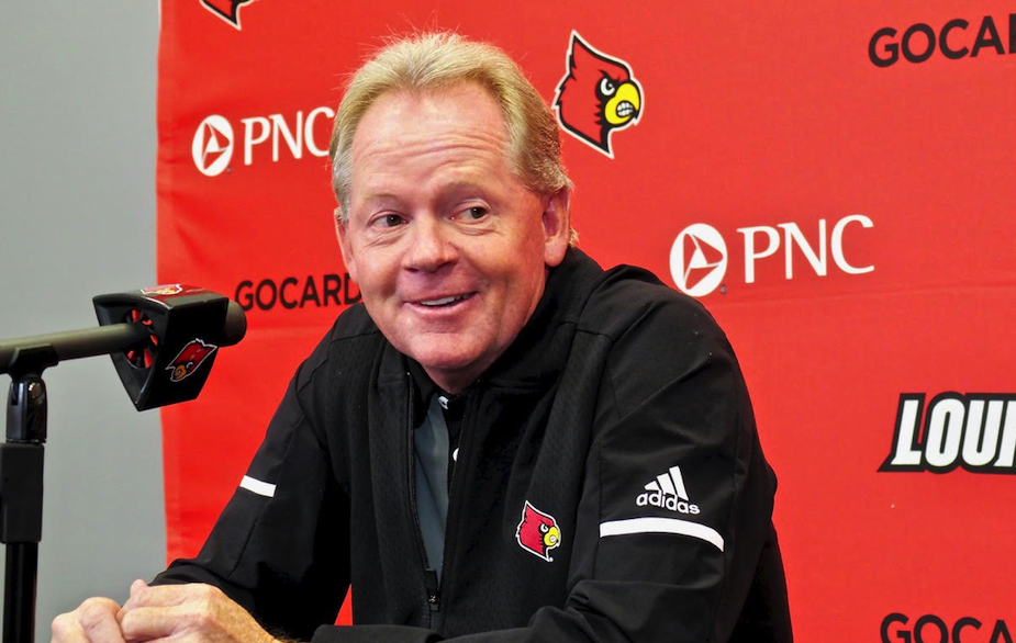 Petrino laughing way to the bank at Louisville football's expense