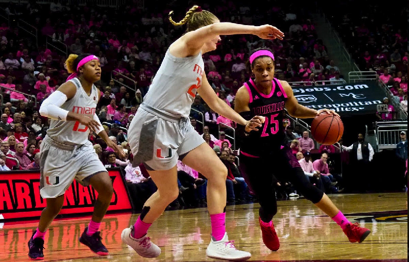 Miami women for real in win over UofL and 12,193 at the Yum!