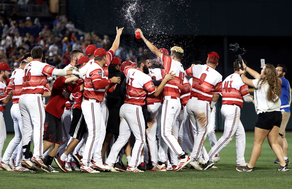 Louisville waves goodbye to Mississippi State, advances in CWS