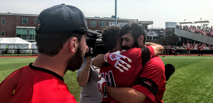 Binelas gets a grizzly hug, UofL baseball another Super Regional