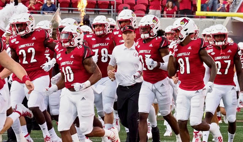 Win No. 1 for Satterfield, and not your granddad's UofL fans