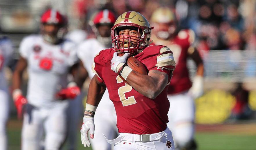 Big, bad A. J. Dillon savors Boston College return to Cardinal Stadium