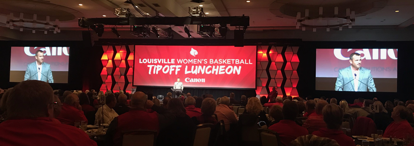 Record crowd of 800 for Louisville women's tipoff luncheon