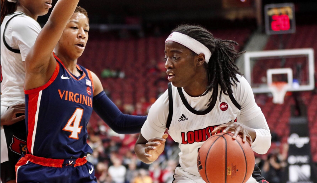 Jazmine Jones with finishing touch for Louisville women