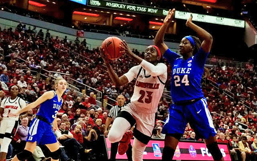 Milestone day for Jazmine Jones, nail biter against Duke