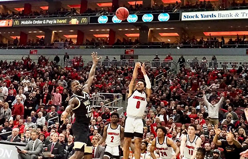 Kimble more comfortable in new role at Louisville