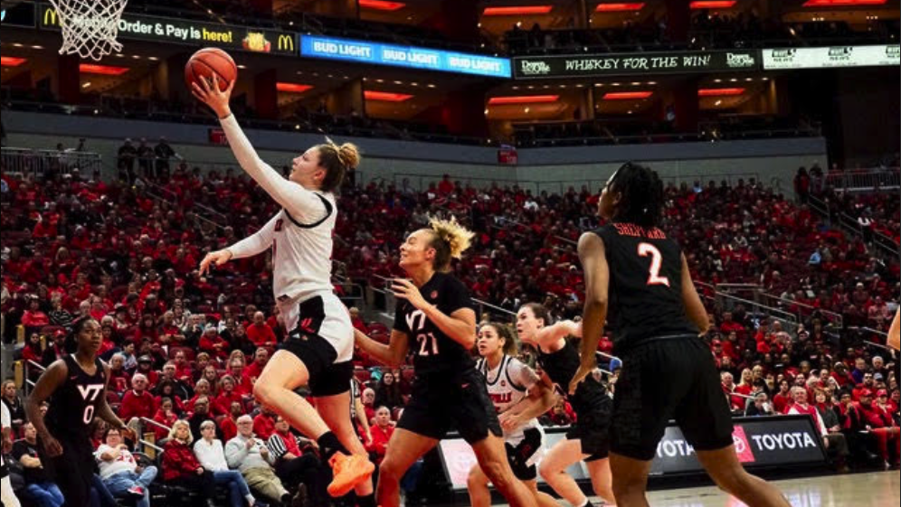 Louisville women turn lights out on Virginia Tech