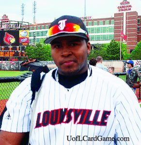 Asaad Ali was a catcher on the UofL baseball team from 2009 through 2012.