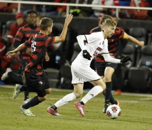 Stanford's wall-to-wall defense stymies UofL in final game (Cindy Rice Shelton photo).
